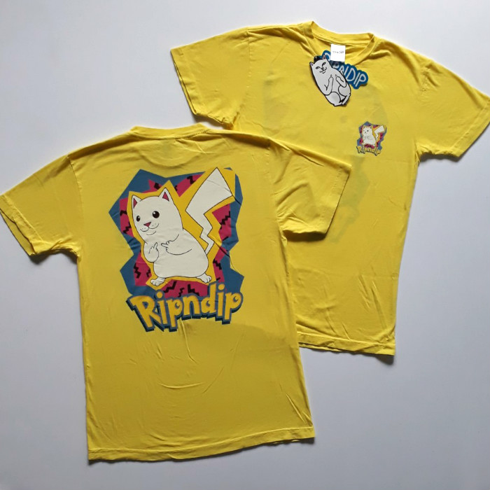 RIPNDIP - Catch Em All T-Shirt - Yellow