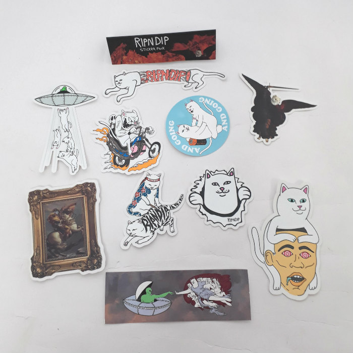 RIPNDIP - Fall 18 - Sticker Pack