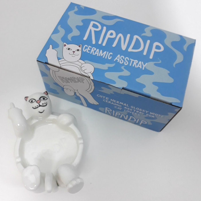 RIPNDIP - Nerm Ceramic Asstray - White