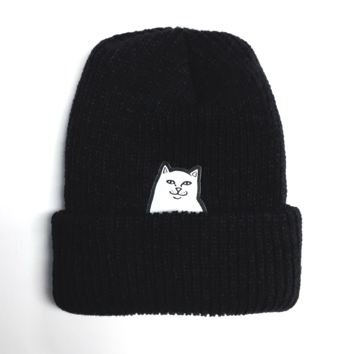 RIPNDIP - Lord Nermal - Cuff Beanie Hat - Black