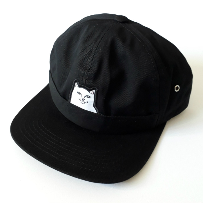 RIPNDIP - Lord Nermal Pocket - 6 Panel Cap - Black