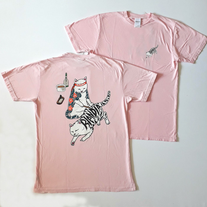 RIPNDIP - Tattoo Nermal T-Shirt - Pink