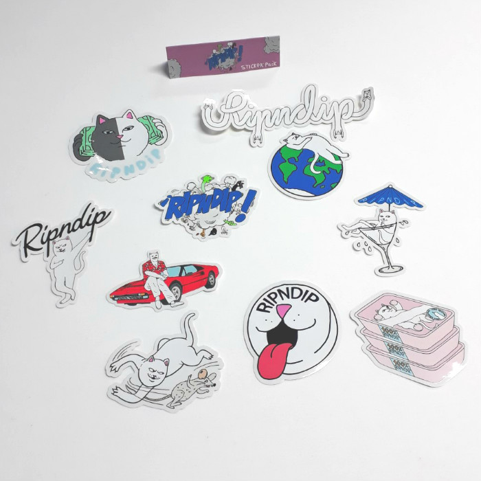 RIPNDIP - Winter 18 - Sticker Pack