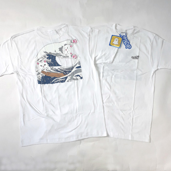 RIPNDIP - Great Wave T-Shirt - White