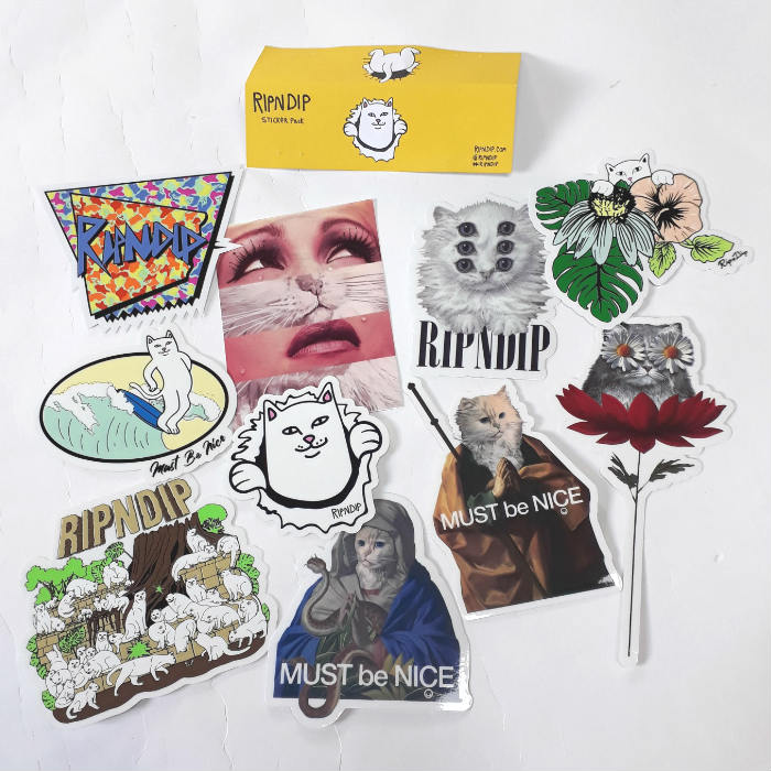 RIPNDIP - Summer 18 - Sticker Pack