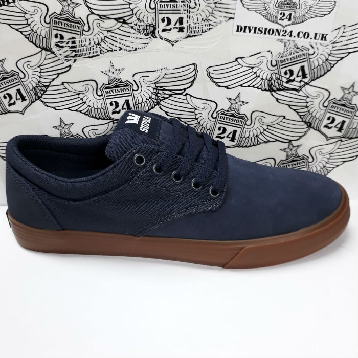 SUPRA Footwear - Chino Shoes - Navy/Gum