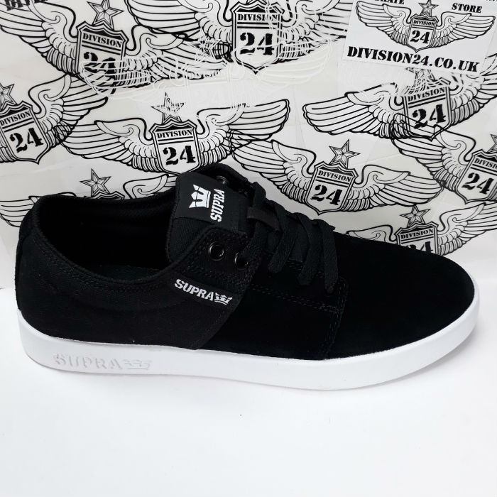 SUPRA Footwear - Stacks II Shoes - Black/Grey/White