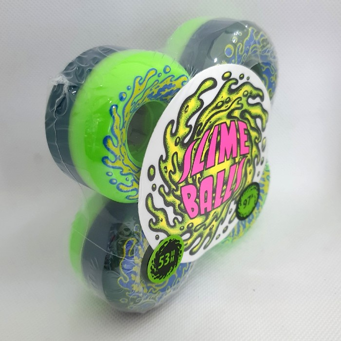 Santa Cruz - Double Take Vomit Mini - Skateboard Wheels - 53mm - 97a