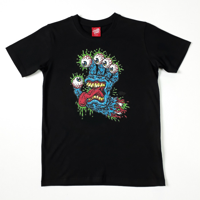 Santa Cruz Skateboard - Gnar Hand - YOUTH T-Shirt