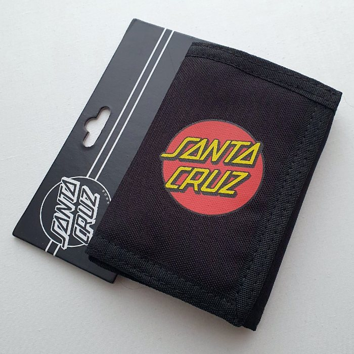 Santa Cruz Skateboards - Classic Dot Wallet - Black
