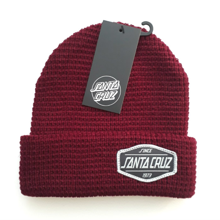 Santa-Cruz-Skateboards-Direct-Cuff-Beanie-Hat-Port