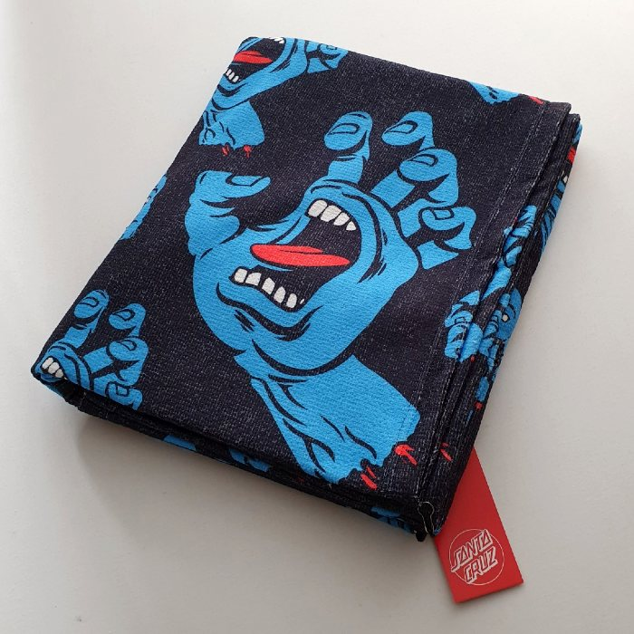 Santa Cruz Skateboards - Hands All Over - Beach Towel