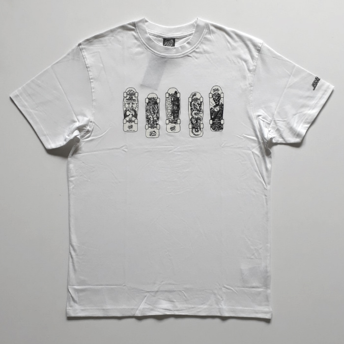 Santa Cruz Skateboards - Kendall Catalog T-Shirt - White