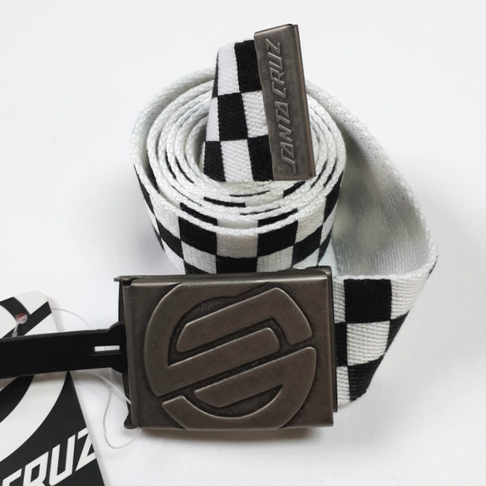 Santa Cruz Skateboards - Knot Chequer - Web Belt