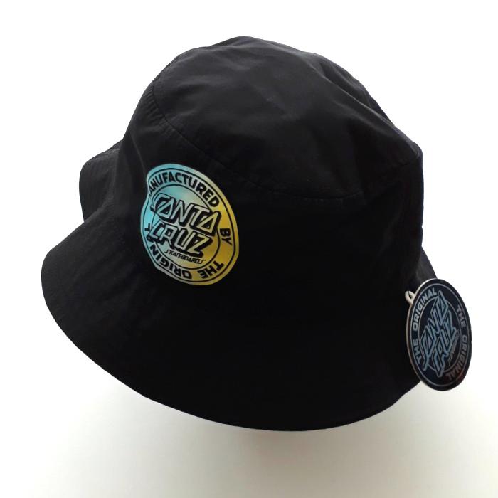 b25f1e10 Santa Cruz Skateboards - MFG Dot Fade - Bucket Hat - Black