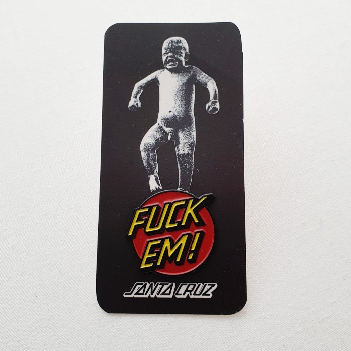 Santa Cruz Skateboards - Salba Baby Stomper - Pin Badge