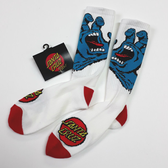 Santa Cruz Skateboards - Screaming Hand - Crew Socks