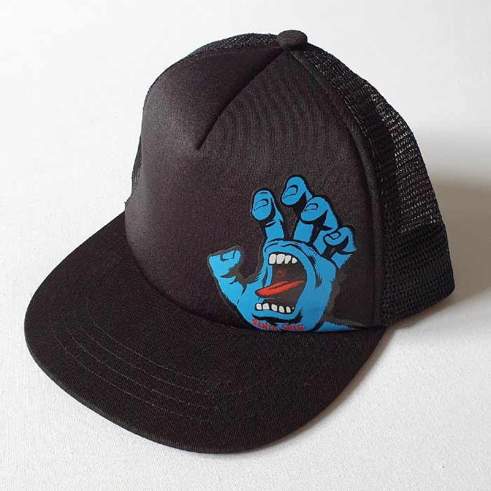 Santa Cruz Skateboards - Screaming Hand - YOUTH Cap - Black
