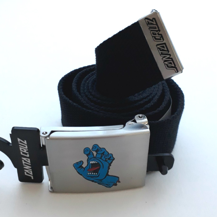Santa Cruz Skateboards - Screaming Mini Hand - Web Belt - Black