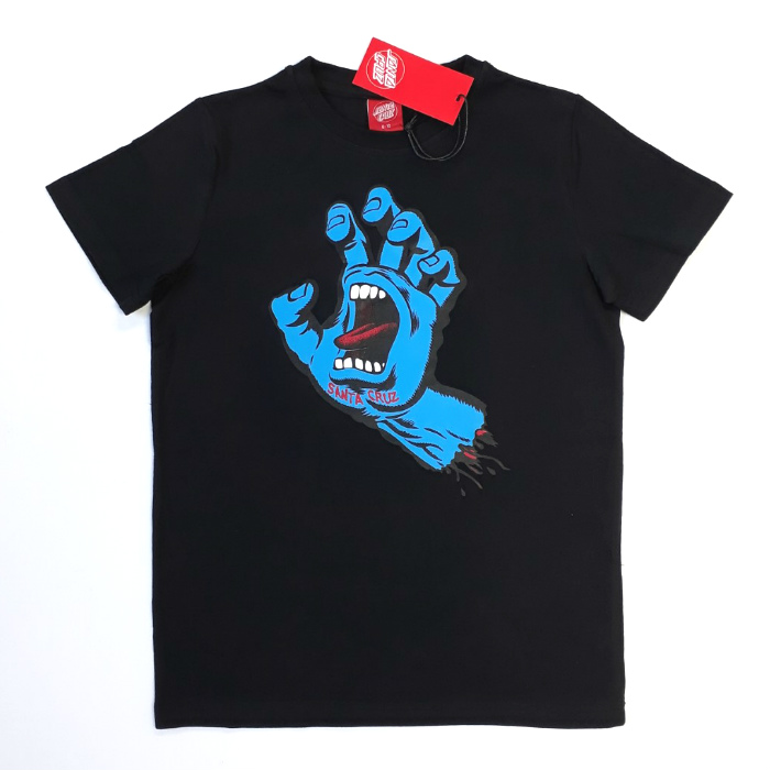Santa Cruz Skateboard - Screaming Hand - YOUTH T-Shirt