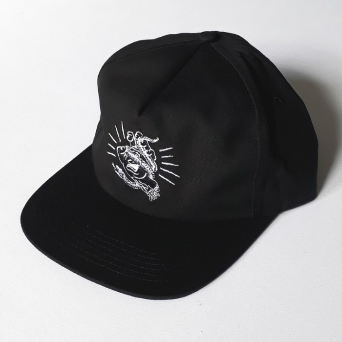 Santa Cruz Skateboards - Snake Bite Cap - Black