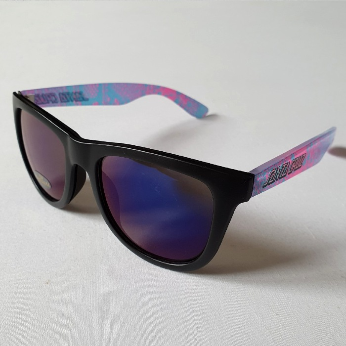 Santa Cruz Skateboards - Snake Strip Sunglasses - Black