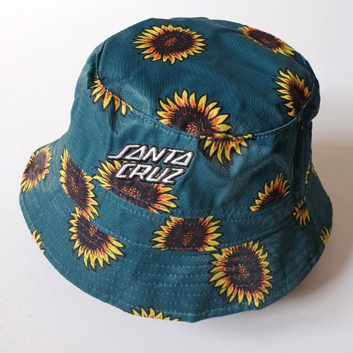 Santa Cruz Skateboards - Sunflowers - Bucket Hat (Reversible)
