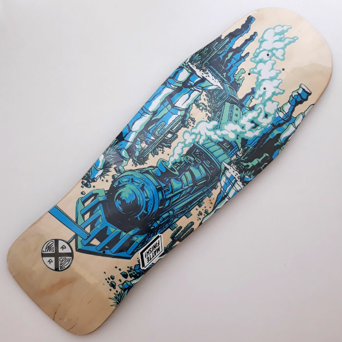 Santa Cruz Skateboards - Winkowski Train Pre Issue - Shaped Skateboard Deck 10.34