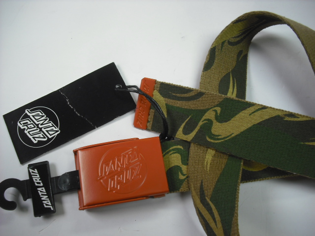Santa Cruz Camo Clamp Web Belt