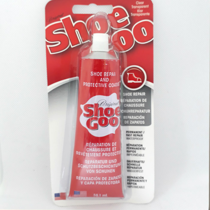 Shoe Goo - Adhesive Repair Sealant - Clear 59.1ml