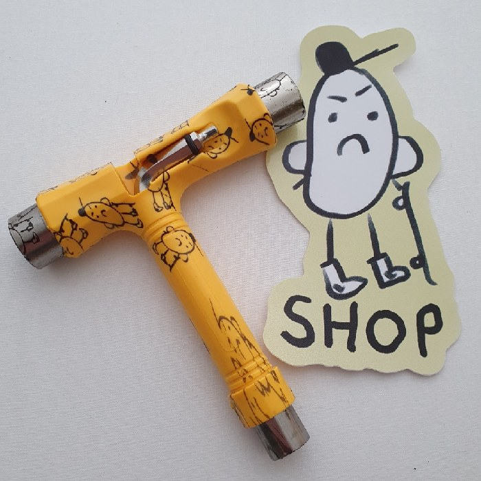 Shop Brand - Potato Man - 5 Way - Skateboard T-Tool