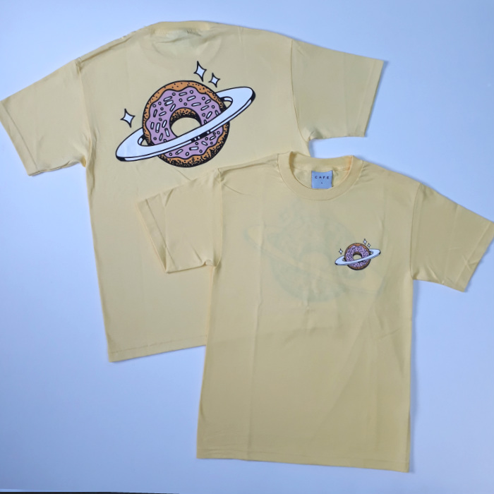 Skateboard Cafe - Planet Donut T-Shirt - Banana