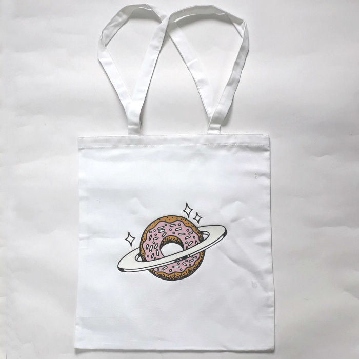Skateboard Cafe - Planet Donut - Tote Bag