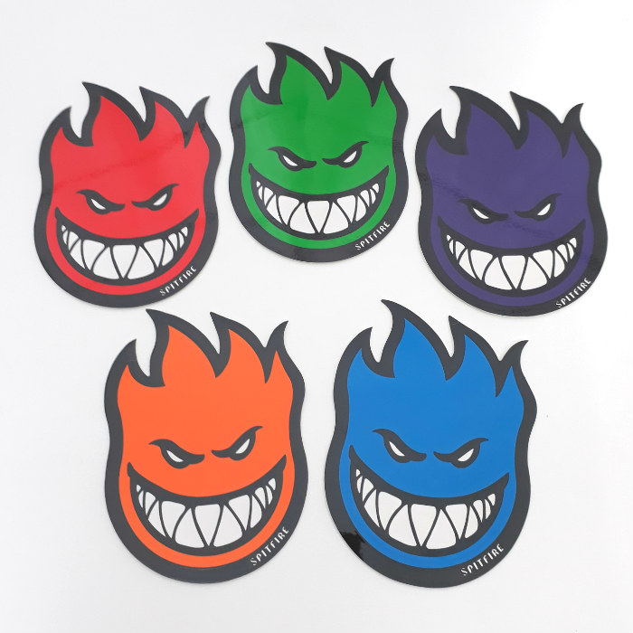 Spitfire Wheels - Fireball Bighead Sticker - Medium