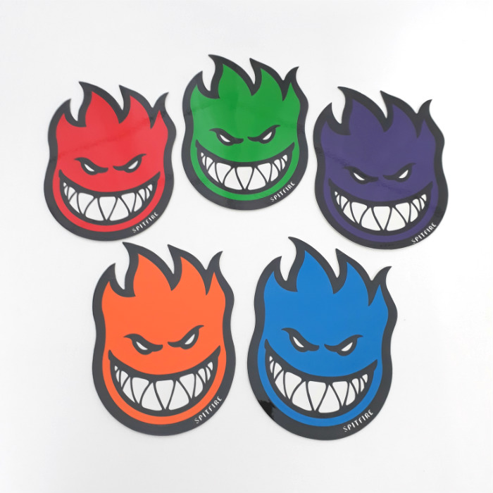 Spitfire Wheels - Fireball Bighead Sticker - Small