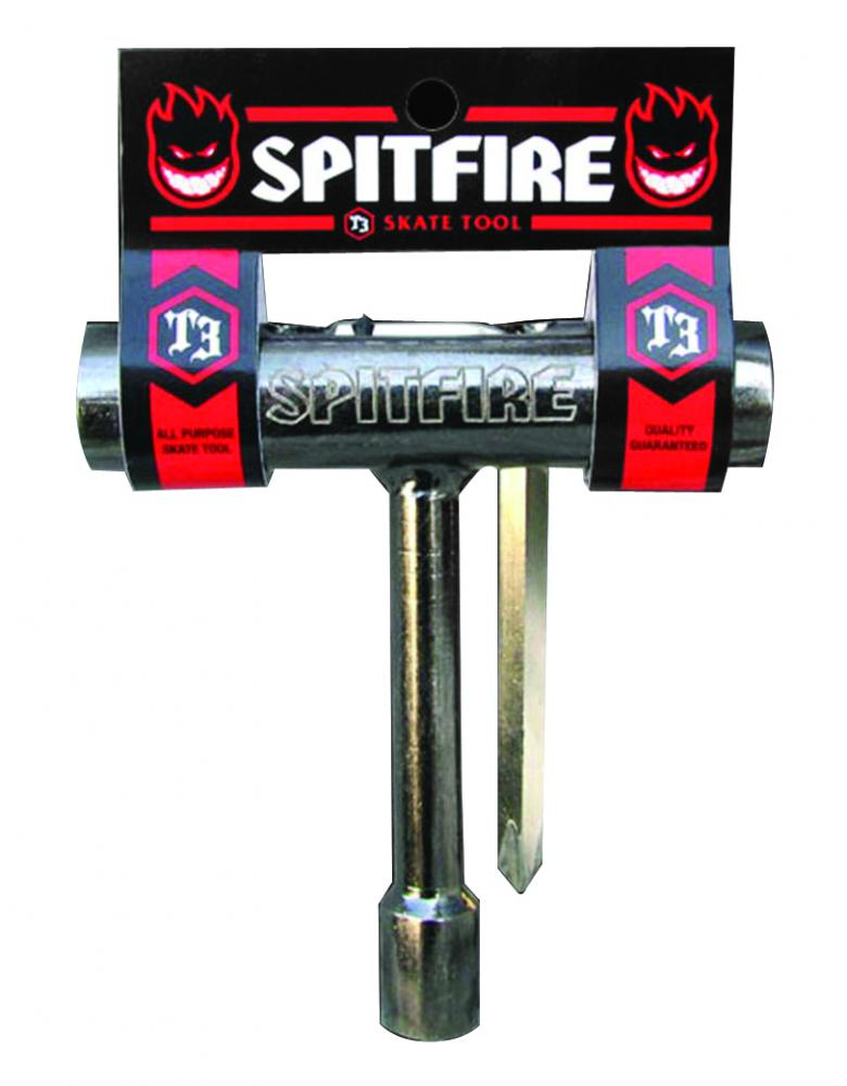 Spitfire Wheels - T3 Skateboard Tool - Black