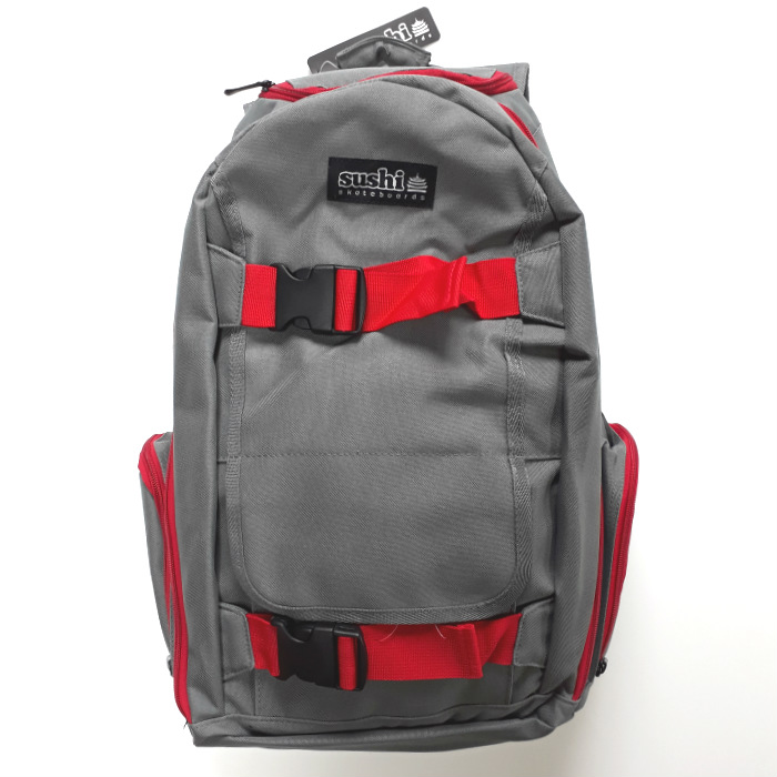 Sushi-Skateboards-Backpack-Skateboard-Carrier-Grey