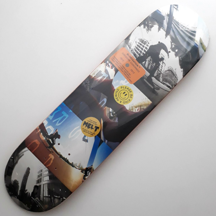 The National Skateboard Co - Gregoire Cuadrado - Blobysation - Skateboard Deck 8.25