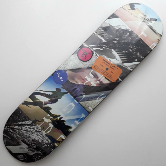 The National Skateboard Co - Joshua Young Baghead Flats - Skateboard Deck 8.00 & 8.375