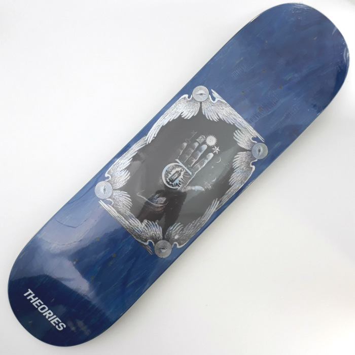 Theories of Atlantis - Hand of Theories - Skateboard Deck 8.25