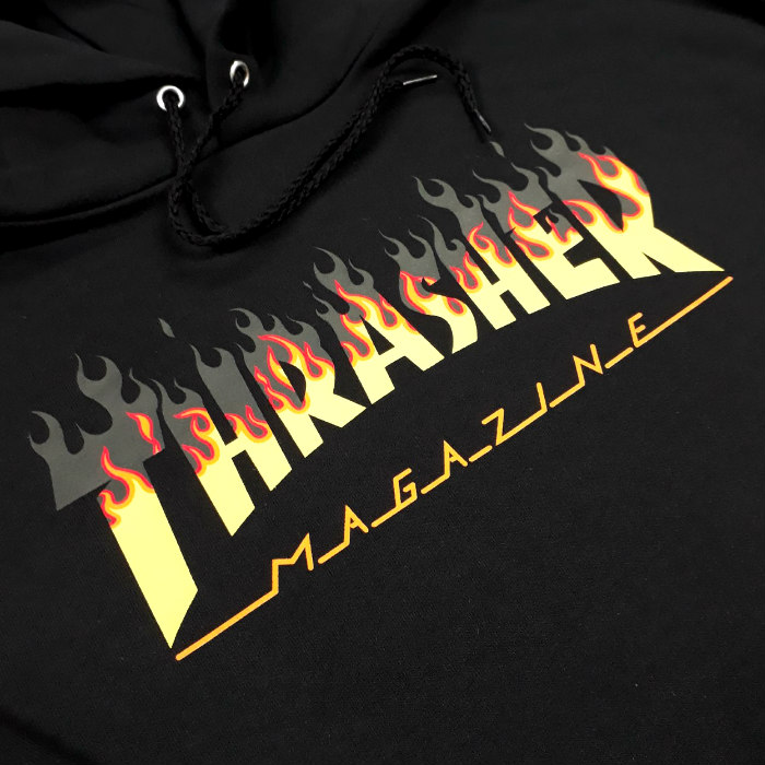 Thrasher-Magazine-BBQ-Pullover-Hooded-Sweatshirt-Black-A