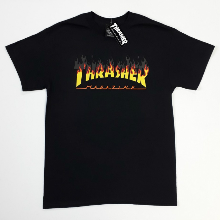 Thrasher-Magazine-BBQ-T-Shirt-Black