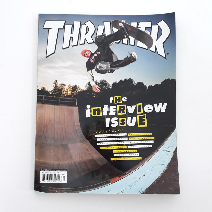 Thrasher Magazine - Issue #456 - July 2018