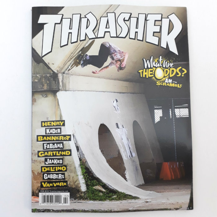 Thrasher Magazine - Issue #463 - Febuary 2019