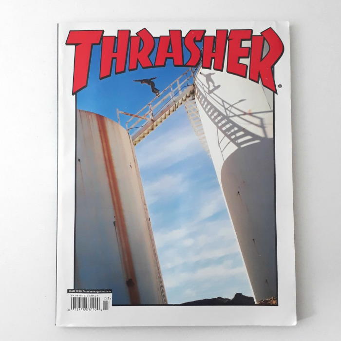 Thrasher Magazine - Issue #464 - March 2019