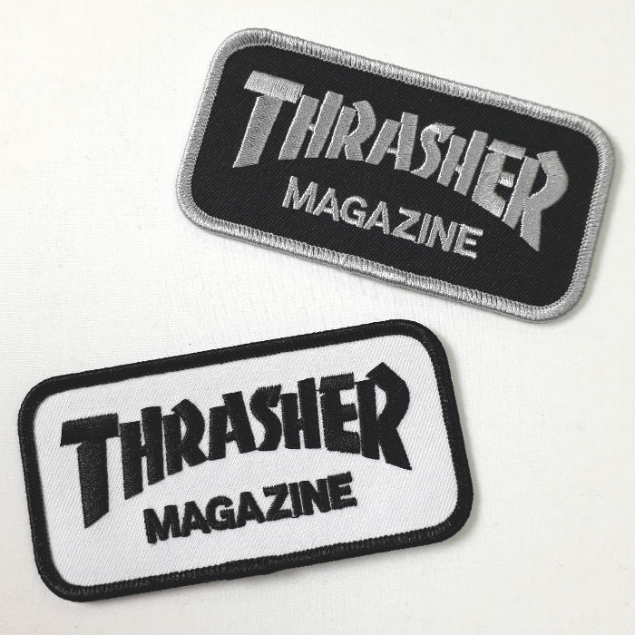 Thrasher Magazine - Magazine Logo - Sew / Iron on Patch