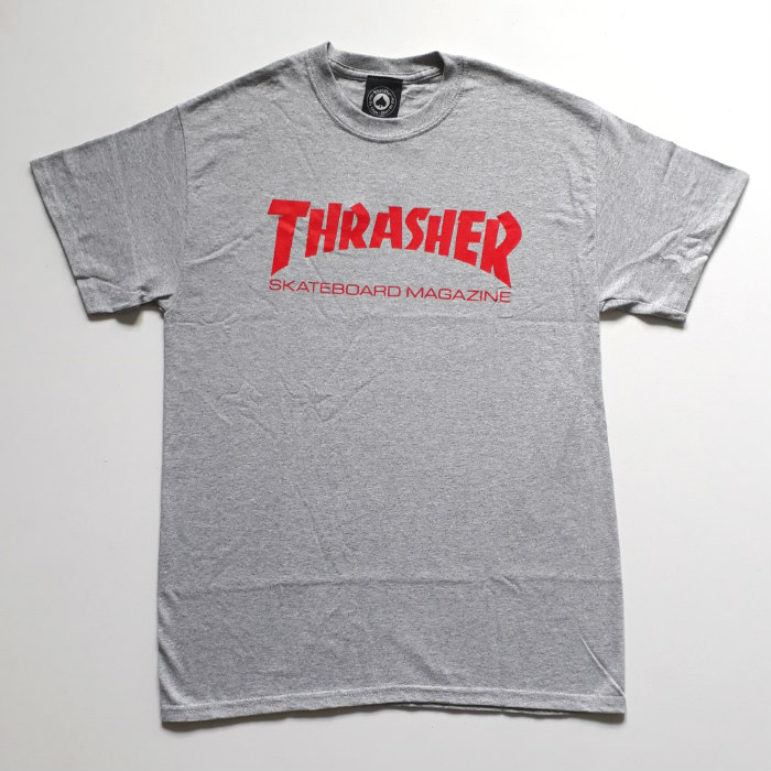 Thrasher Magazine - Skate Mag T-Shirt - Grey/Red
