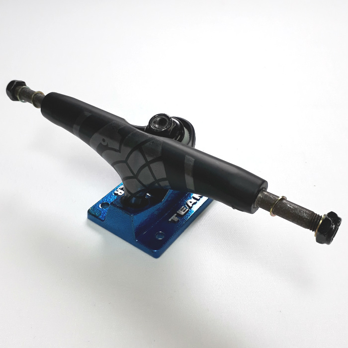 Thunder Trucks - 147 Elektra Strike - Skateboard Trucks - Black/Blue
