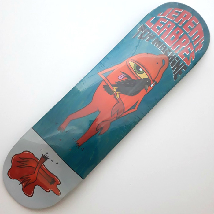 Toy Machine - Leabres Chopped - Skateboard Deck 8.50