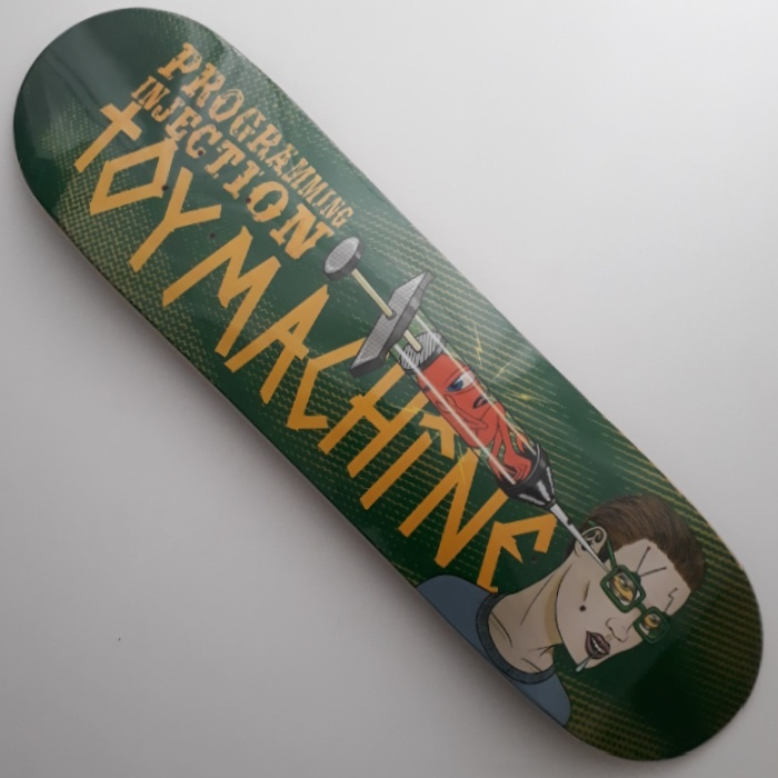 Toy Machine - Programming Injection - Skateboard Deck 8.50